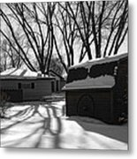 Freedom From Winter Metal Print