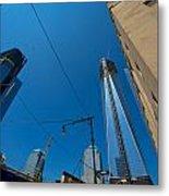 Freedom Tower In Progress Metal Print