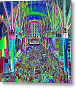 Fremont Street Experience Nevada Metal Print