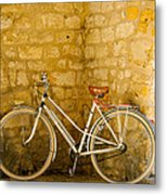 French Bicycle Metal Print by Georgia Fowler