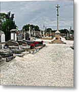 French Cemetery  Metal Print