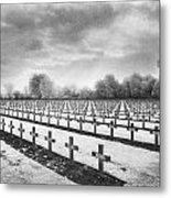 French Cemetery Metal Print by Simon Marsden