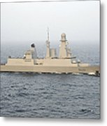 French Destroyer Fs Forbin Metal Print