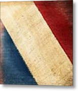 French Flag Metal Print