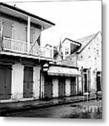 French Quarter Tavern Architecture New Orleans Conte Crayon Digital Art Metal Print