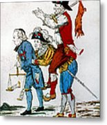 French Revolution, 1792 Metal Print