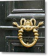 French Snake Doorknocker Metal Print