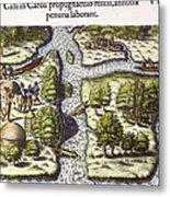 French: Sth. Carolina, 1562 Metal Print