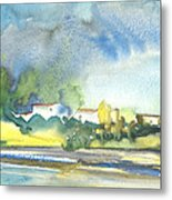 French Village 01 Metal Print