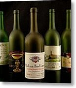 French Wine Labels Metal Print
