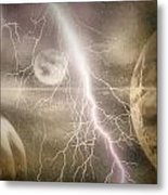 Frequence Metal Print