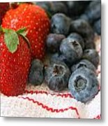 Fresh Berries Metal Print