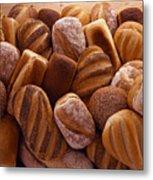 Fresh Bread Loaves Metal Print