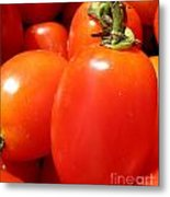 Fresh Cherry Tomatoes Metal Print
