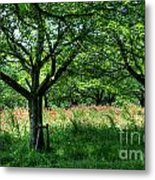 Fresh Green Time  Metal Print