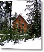 Fresh Snow Glory Metal Print