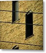 Bass Guitar Frets Metal Print