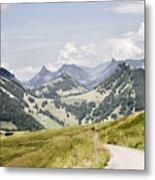 Fribourg Alps Metal Print