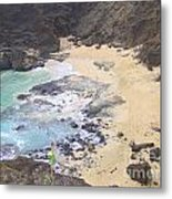 From Here To Eternity Beach Metal Print
