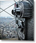From Observation Deck. Metal Print
