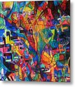 from Sefer Yetzirah the letter Yud Metal Print