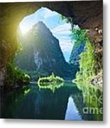 From The Grotto Metal Print