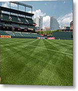 From The Visitors Dugout Metal Print