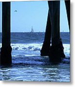 From Under The Pier Metal Print