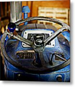 From Where I Sit Tractor Metal Print