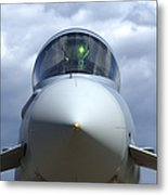 Front View Of A Eurofighter Typhoon Metal Print