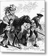 Frontier Family, 1755 Metal Print