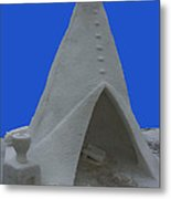 Frosted Tee Pee Metal Print