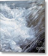 Froth Metal Print