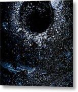 Frozen Cosmos Metal Print