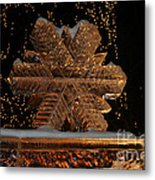 Frozen Flake Metal Print