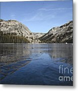 Frozen Tenaya Lake Metal Print