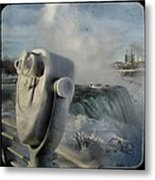 Frozen Viewer Metal Print