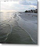Ft Myers Beach Metal Print