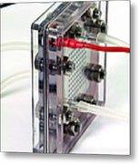 Fuel Cell Metal Print by Friedrich Saurer