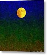 Full Moon Metal Print by Dale   Ford