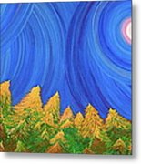 Full Moon Forest By Jrr Metal Print