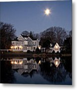 Full Moon Over Babylon Metal Print
