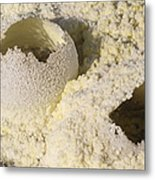 Fumarole Deposits In The Dallol Metal Print