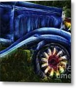 Funky Old Car Metal Print