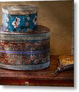 Furniture - Hat Boxes With Billow Metal Print