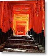 Fushimi Inari Shrine Pic.1 Metal Print