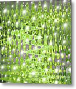 Future Forest Abstract Metal Print