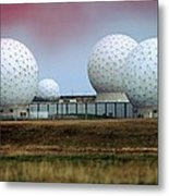 Fylingdales Long-range Radar Station, Uk Metal Print