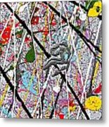 Fyr Art Work 7 Metal Print