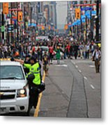 G20 Summit Toronto Metal Print